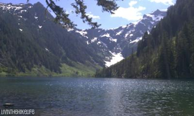 Cadet Peak at Goat Lake