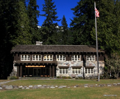 Longmire National Park Headquarters at Mount Rainier