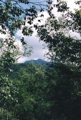 Mount Mansfield from a distance