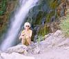 Lorraine on Mt Timpanagos Trail, Utah