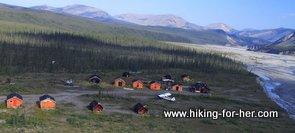 South Nahanni base camp, Northwest Territories