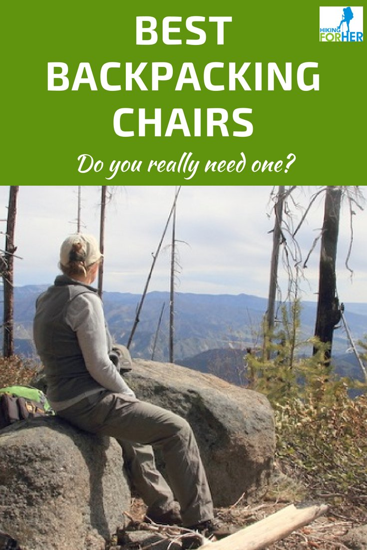 Sore, achy back getting you down on a backpacking trip? The best backpack chairs can help! #backpacking #backpackingchairs #hikingtips