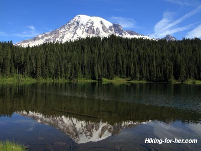 Mount Rainier at Reflection Lake