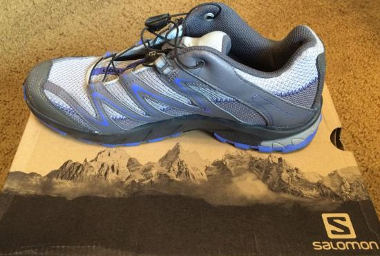 Female trail shoe by Salomon