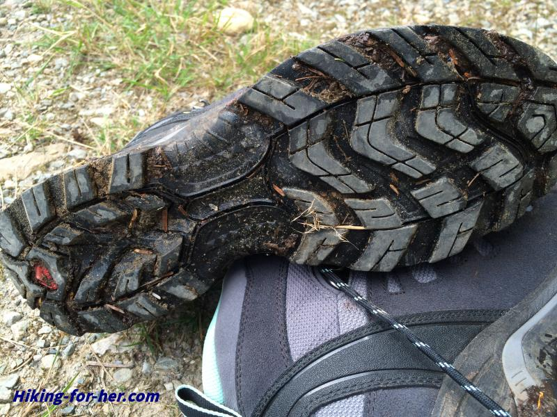 Hiking boot tread