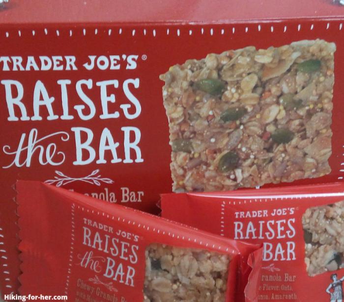 granola bars for hiking