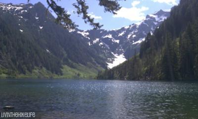 Cadet Peak at Goat Lake